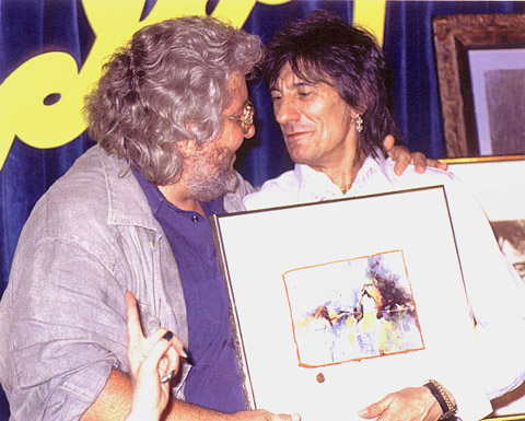 Ronnie Wood(rolling-stones)